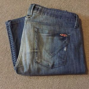 Mixed Wash Bootcut Hudson Jeans